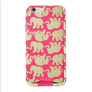 "🐘✨Lilly Pulitzer ""Tusk in Sun"" iPhone 6/6S case✨"